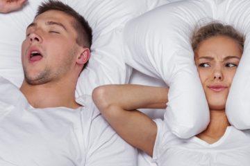 Il tuo partner russare accorcia il sonno?